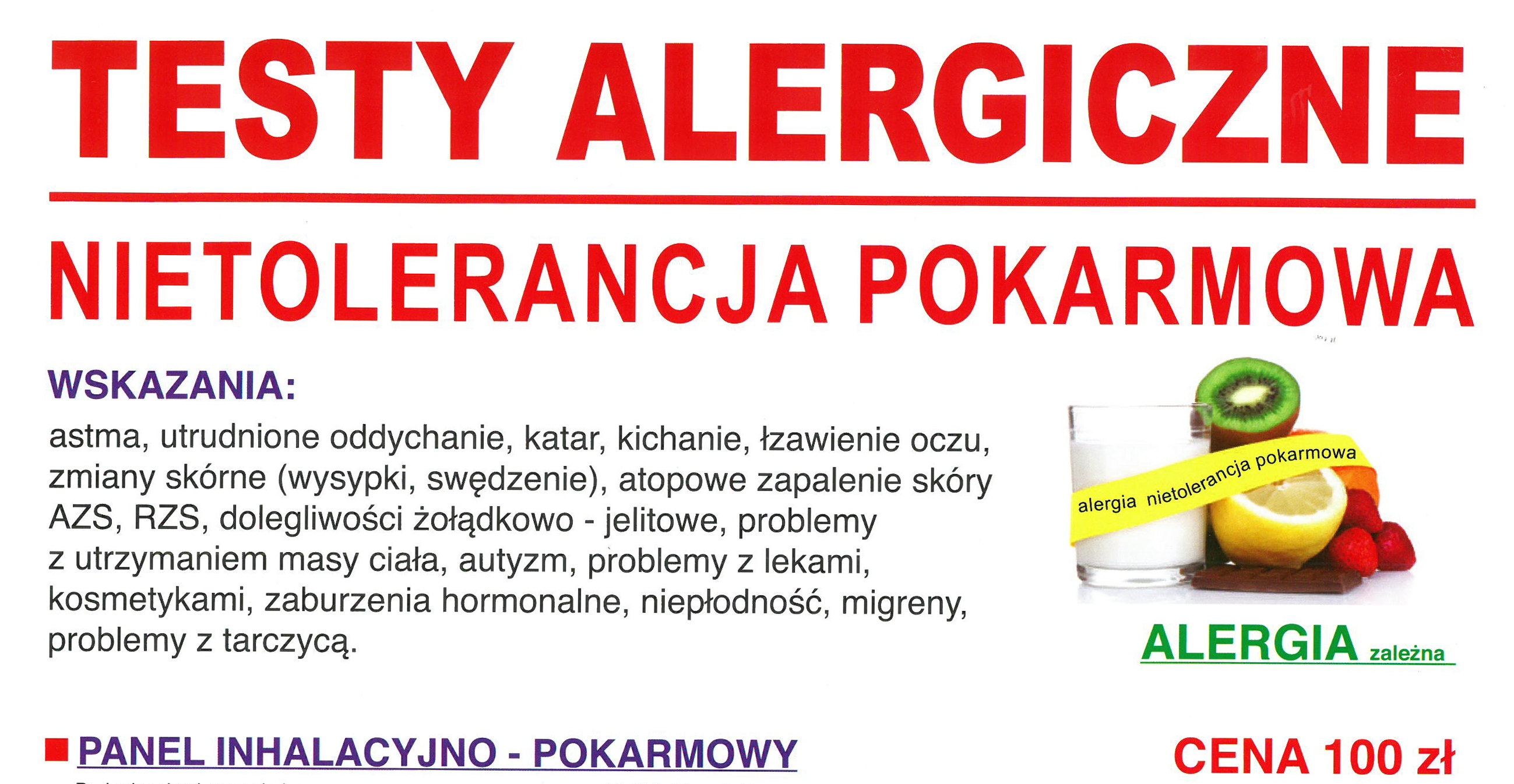 Testy alergiczne – badania